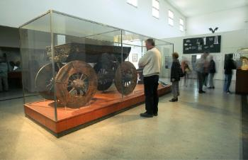 Cart from the Oseberg burial find