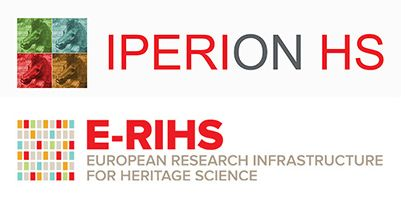 Logos of IPERION-HS and E-RIHS