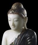 utsnitt av buddha-figuren som Børge brende leverte tilbake til Myanmar i 2017